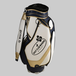 Sac Staff Marine et Or Golf clubmaker
