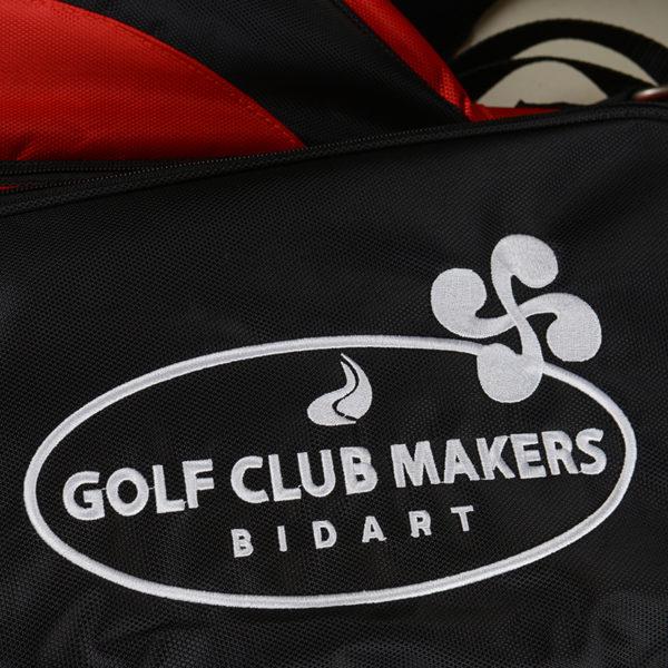 Sac Trépied Rouge Golf clubmaker