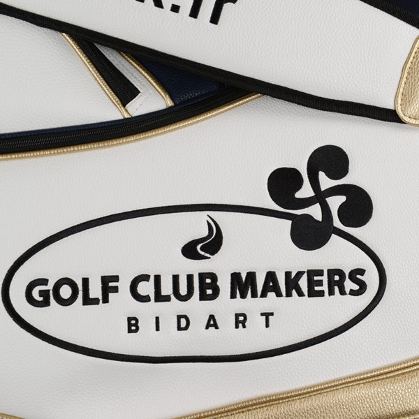 Sac Staff Marine et Or Golf clubmaker