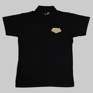 Polos homme blanc Noir Golfclubmakers